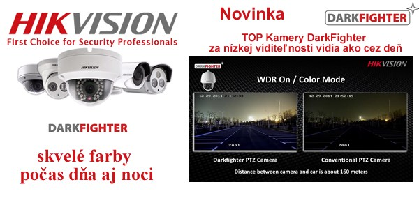 Hikvision DarkFighter kamery