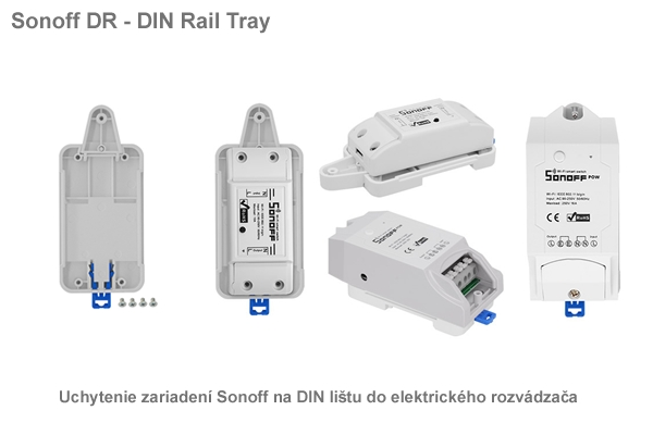Sonoff DR - DIN Rail Tray
