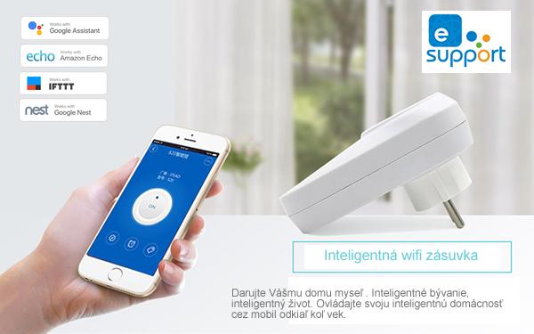 Smart S20 - inteligentná wifi zásuvka