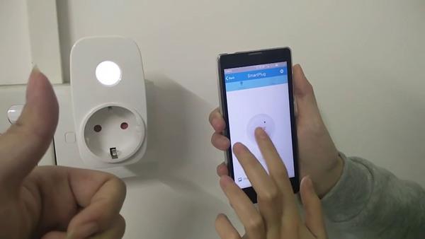 BroadLink SP3S EU - WiFi zásuvka s diaľkovým ovládaním + monitor El.energie